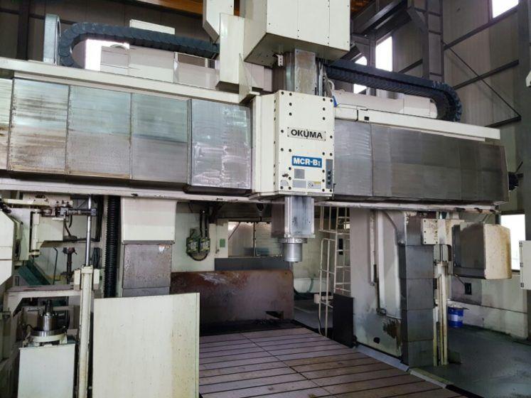 Okuma MCR-BII 30 x 50 EA HP CNC Planer Milling Machine 10000 rpm