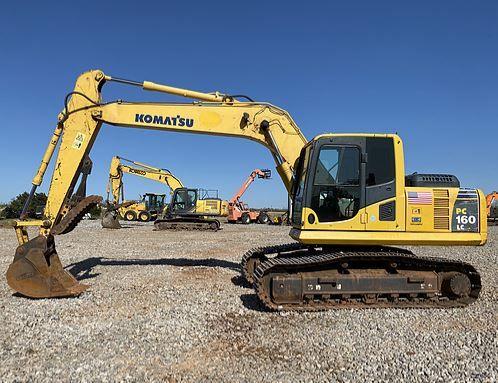 Komatsu PC160LC Tracked Excavator