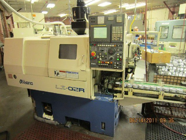 Miyano Fanuc 21iT CNC Control Max. 5000 rpm LZ-02R 2 Axis