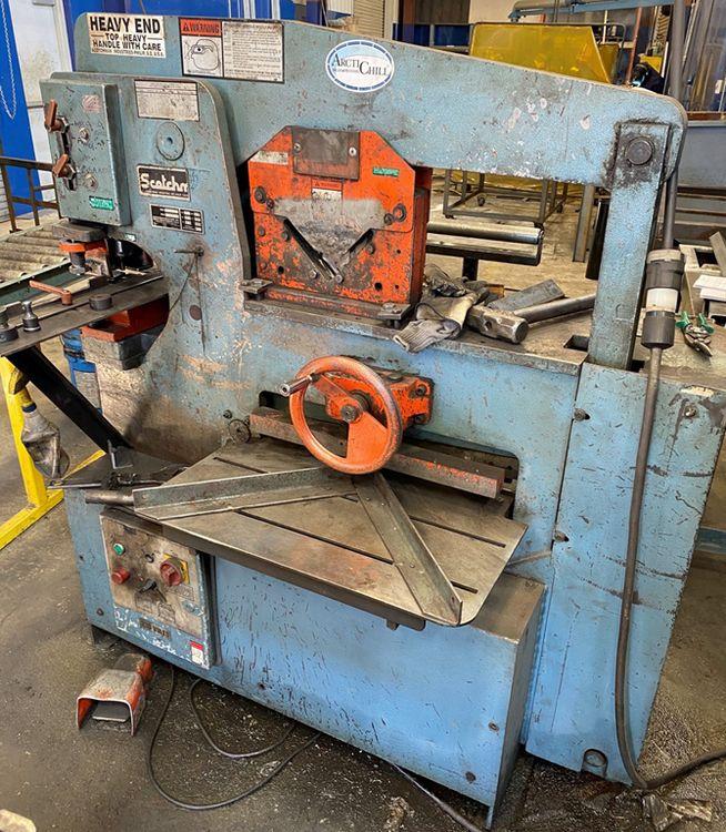 Scotchman Hydraulic Iron Worker 6509-24M 65 Ton