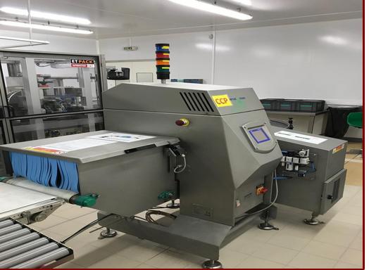 Mettler Toledo Safeline, X-ray Detector