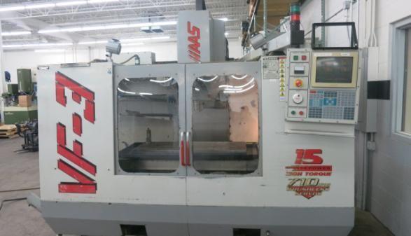 Haas VF-3 3 Axis