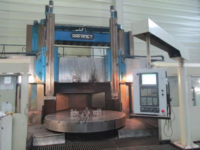 Rafamet KCH320/350 Vertical turret borer double column