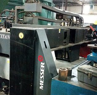 Messer Cutting System Titan CNC Control