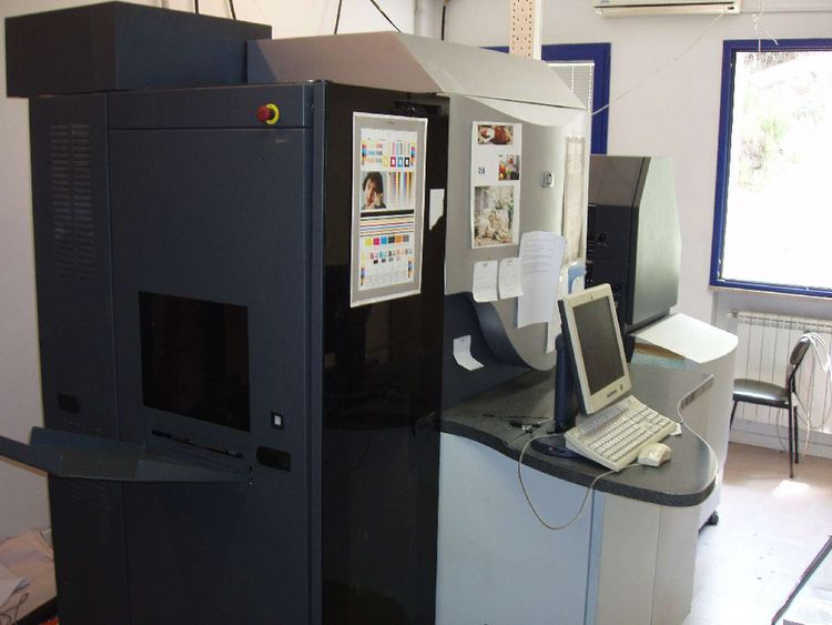 HP INDIGO PRESS 3000 6