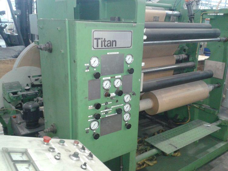 Titan SR 3, Slitter for foil with razor blade cutting 1250mm