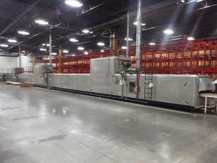 Werner Lehara 150 FT RECIRCULATING TUNNEL OVEN WITHOUT BAND