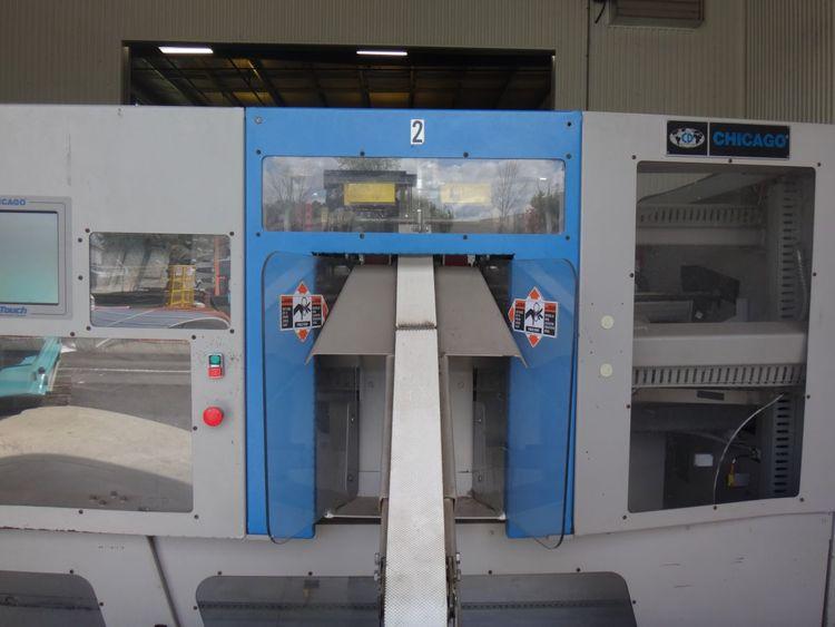 Chicago Ultra Maxx CT-136, 2 Station Spreader Feeder