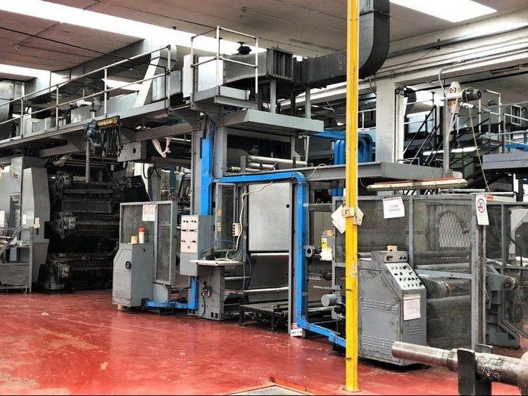 Uteco Amber 609, Flexo printing press 6 609 – 1200 mm
