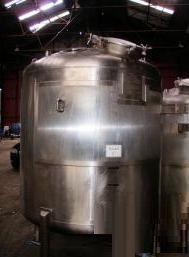 Giusti 3,880 Litre Stainless Steel Pressure Vessel