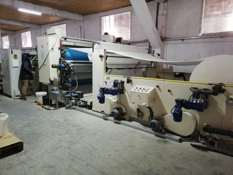ICM 2700 mm industrial rolls Rewinder with lamination of 2010, refurbished jan 2019!