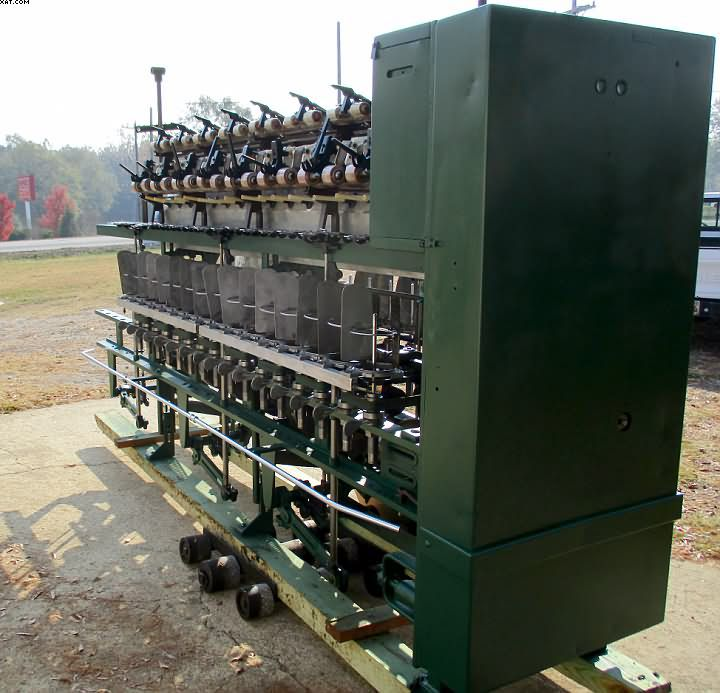 Whitin NW Ring spinning frames