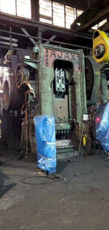Ajax Mechanical Forging Press 3500 Ton