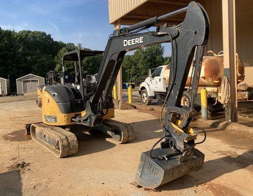 John Deere 50G Compact Excavators