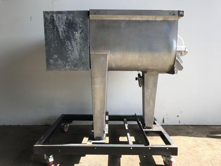 Wolfking 600L TSM Twin shaft paddle mixer