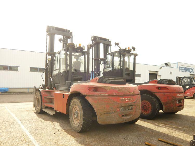 Fenwick H120D Diesel Forklift 12,000 kg.