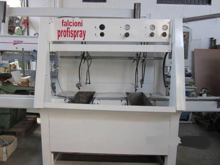Falcioni Profispray, Automatic spray machine