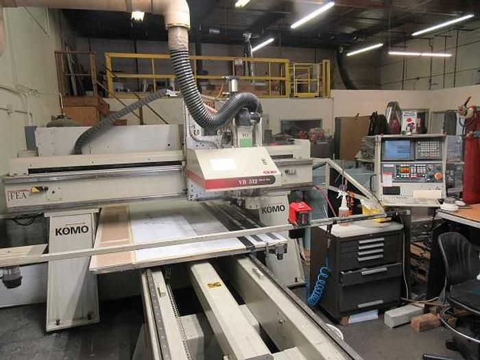 Komo VF 512 CNC Router ROUTER WITH CNC CONTROL