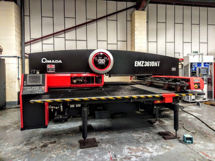 Amada EMZ 3610 NT electric punch 30 tonnes (300kN)