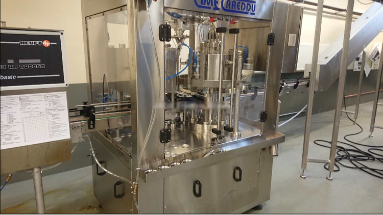 Cimec Diamond 6/1 Can Filler for beer and CSD