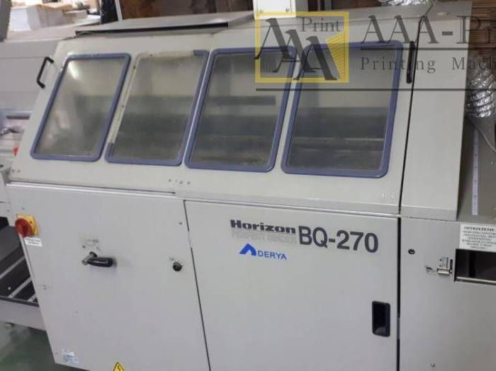 Horizon BQ 270, Perfect Binding machine