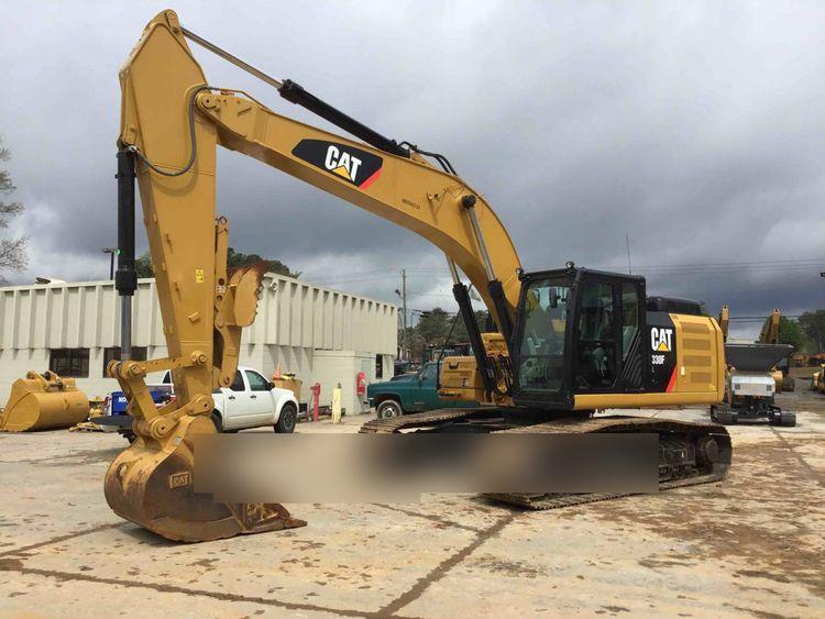 Caterpillar 330FL Tracked Excavator