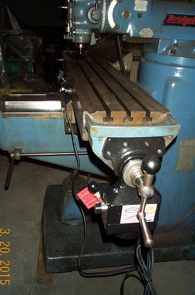Bridgeport Series II vertical 4200 rpm