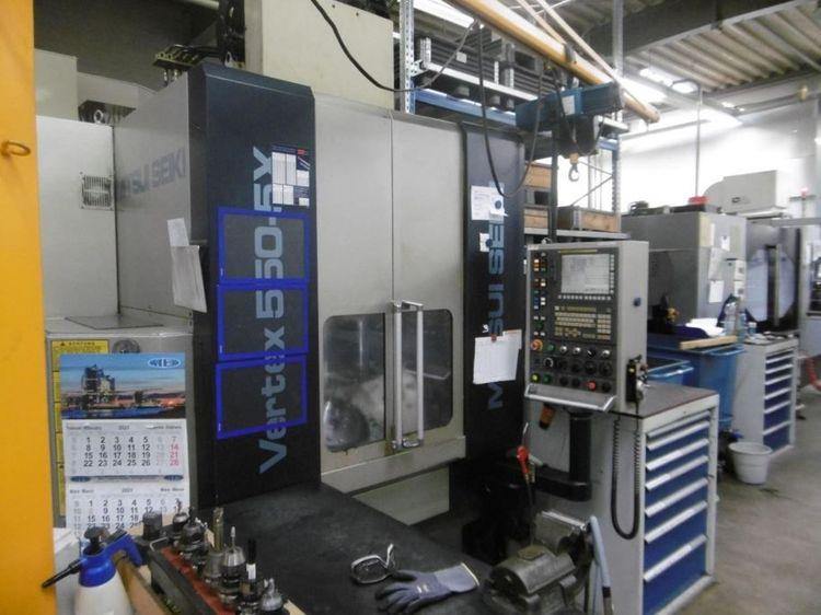 Mitsui Seiki 5-Axes Milling Center Vertex 550-5X Vertical 25000rpm