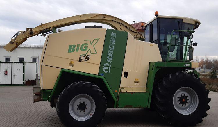 Krone Big X 650 Forage Harvester