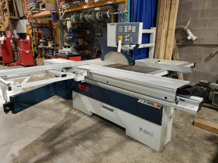 Cantek P400E, Sliding Table Saw