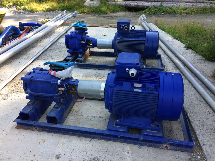 2  KSB PUMPS for snow making