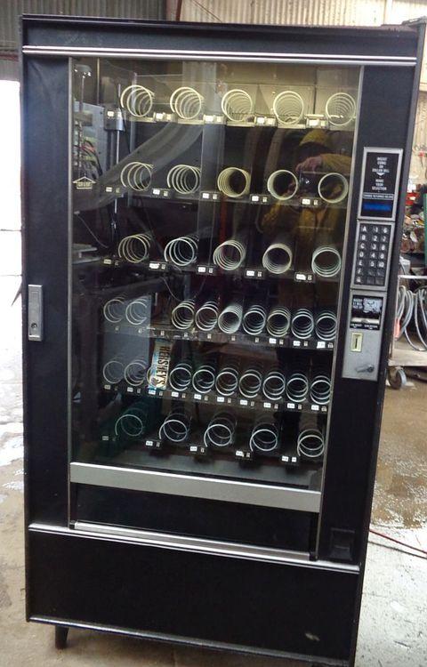 Snack Machine with Black Pica Vinyl Front