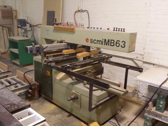 SCMI MB-63, BORING MACHINE