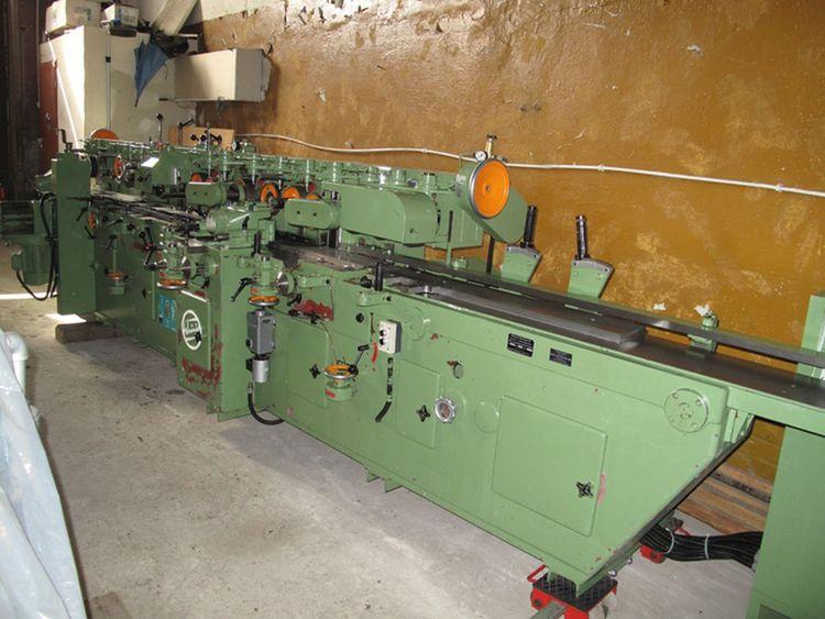 Weinig Unimat 17 N, Multi-spindle planing machine