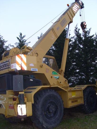 Locatelli GRILL827  Auto crane
