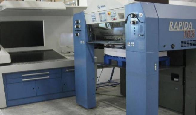KBA Rapida 105-5 L CX ALV2 105 x 72 cm