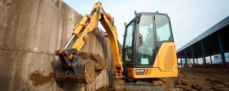 LiuGong 9018F Compact Excavators