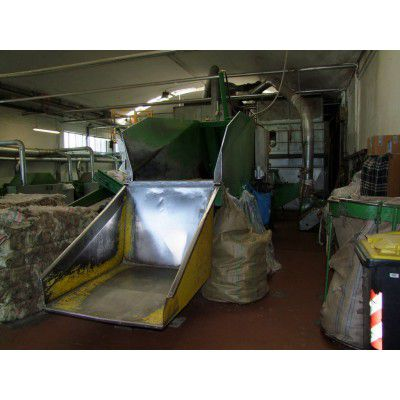 Dell' Orco, Italiana Presse Complete rag tearing plant