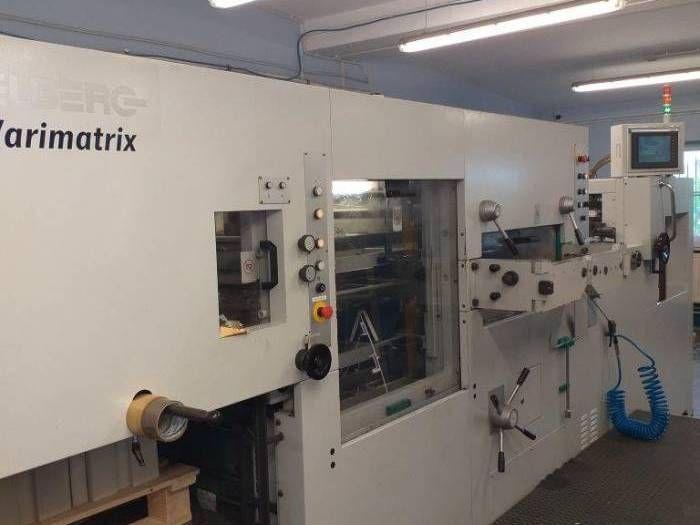 Heidelberg VARIMATRIX CS, Die Cutting machine