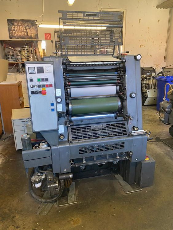 Heidelberg GTOZ- 52 + Version 360 x 520 mm