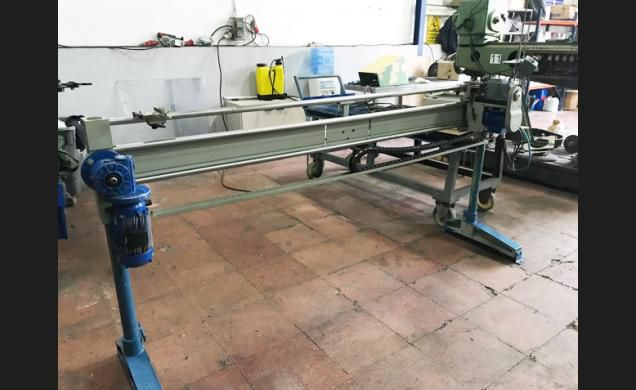 Monti Open width sewing machines