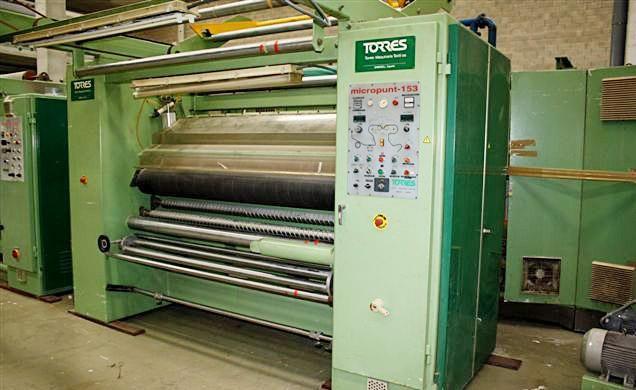 Torres Micropunt 153 197 cm Emerizing Knitting Fabrics Machine