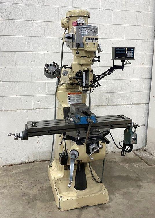 Bridgeport Milling Machine Series 1 Vertical 4200 RPM