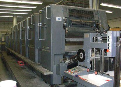Heidelberg SM72S+L, 6 Colors Offset Machine Max. 72 x 102 cm