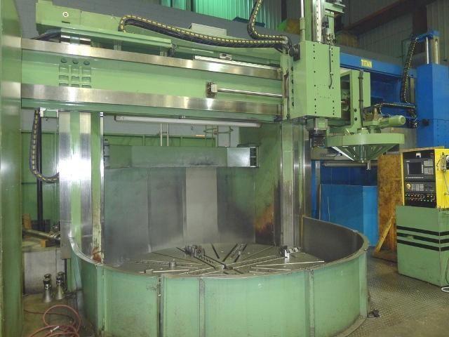 "Titan 120"" CNC VERTICAL BORING MILL"