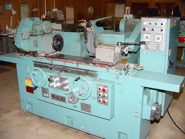 "Shigiya GUA-30.60 12"" x 24"" Universal Cylindrical Grinder"