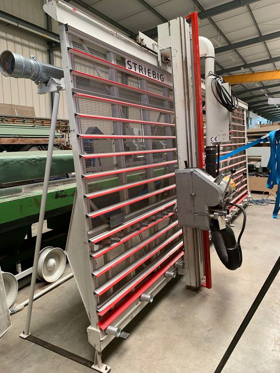 Striebig STANDARD III 6220 A, Saw with vertical panel