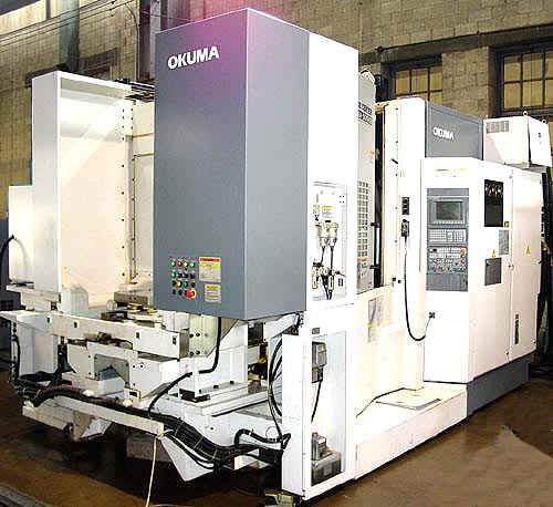 Okuma MA-500HB CNC HORIZONTAL MACHINING CENTER 4 Axis