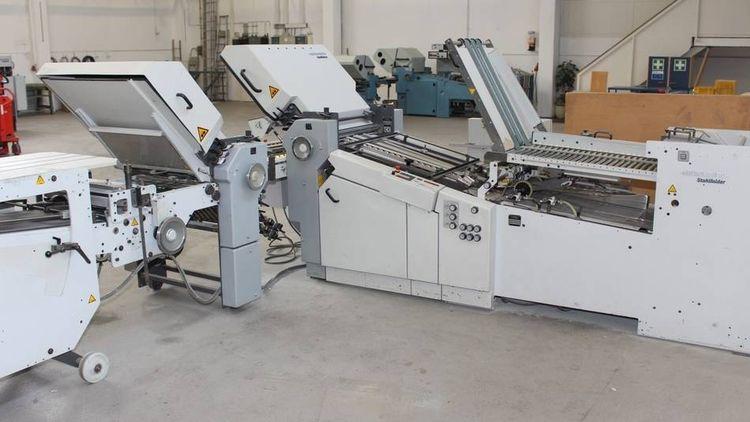 Heidelberg Stahlfolder Ti 55/4-4-SBP.3-46+MKE, Folding machine