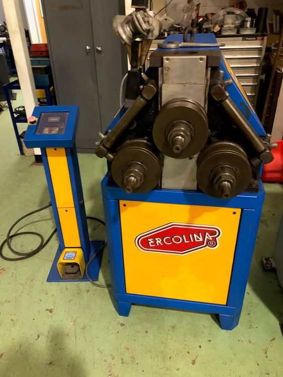 Ercolina EUR 76 Hydraulic Section Roller
